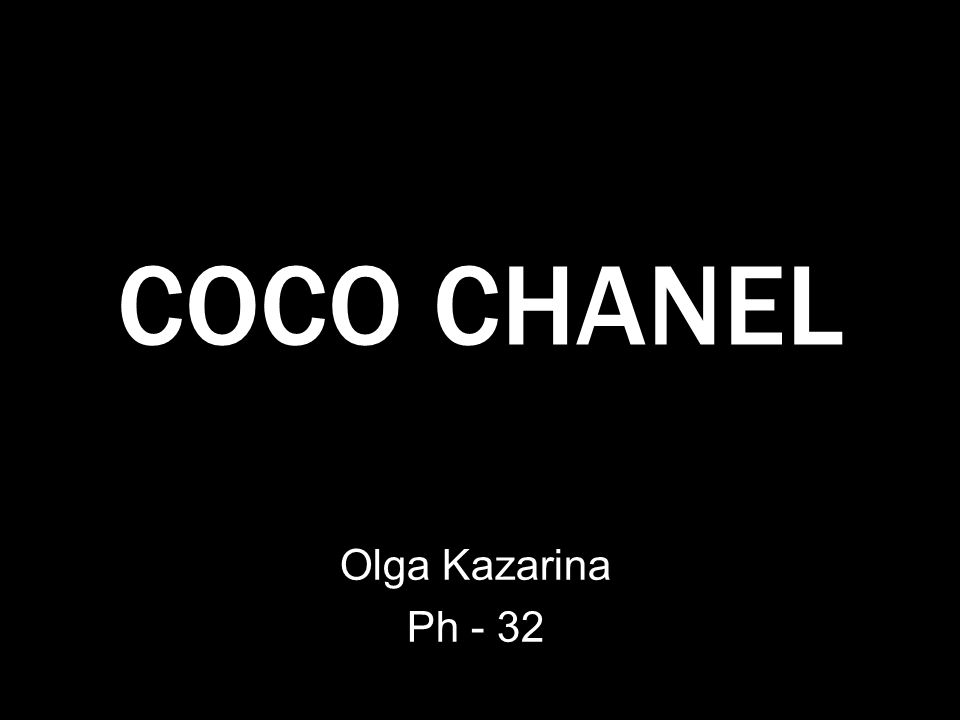 COCO CHANEL Olga Kazarina Ph - 32