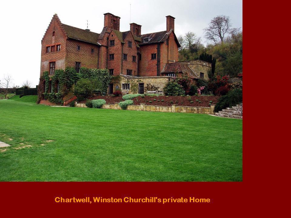 Chartwell, Winston Churchill's private Home