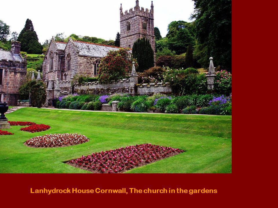 Lanhydrock House Cornwall, The church in the gardens