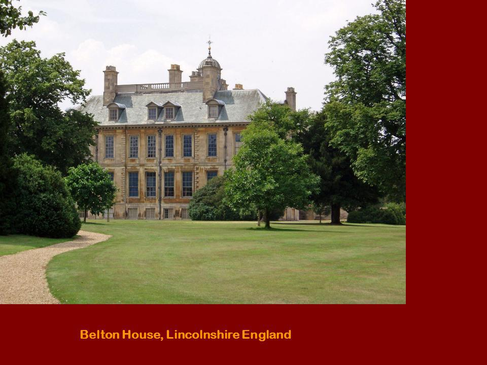 Belton House, Lincolnshire England