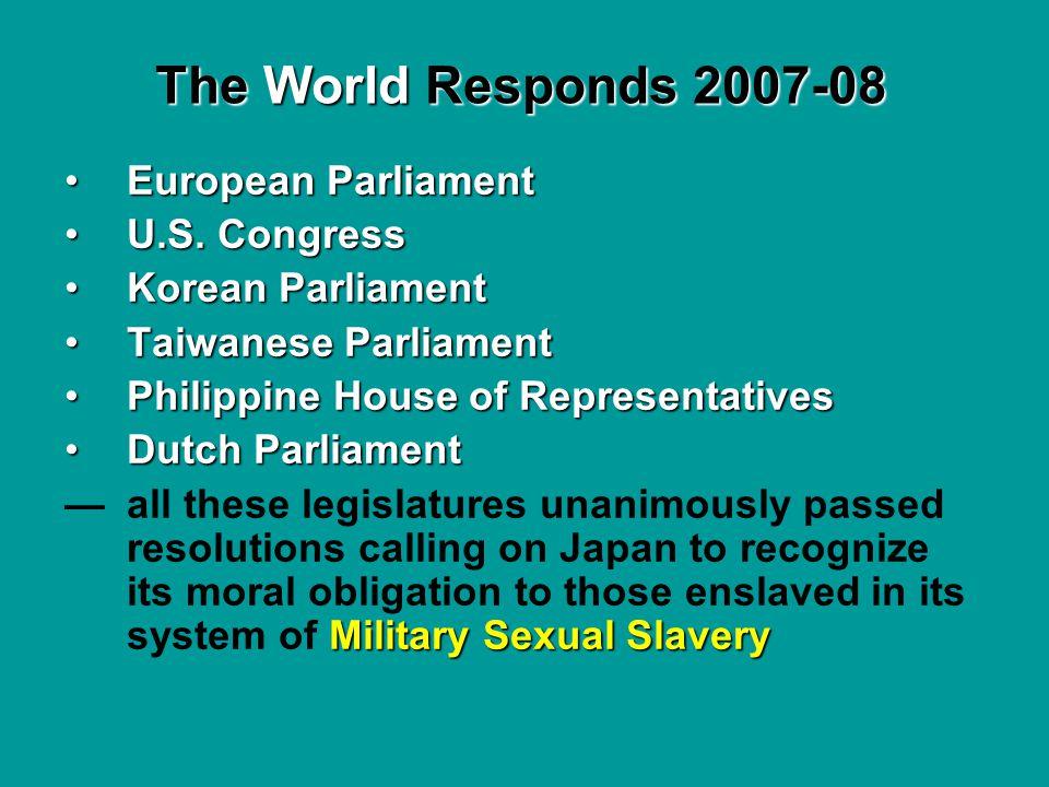 European ParliamentEuropean Parliament U.S. CongressU.S. Congress Korean ParliamentKorean Parliament Taiwanese ParliamentTaiwanese Parliament Philippi
