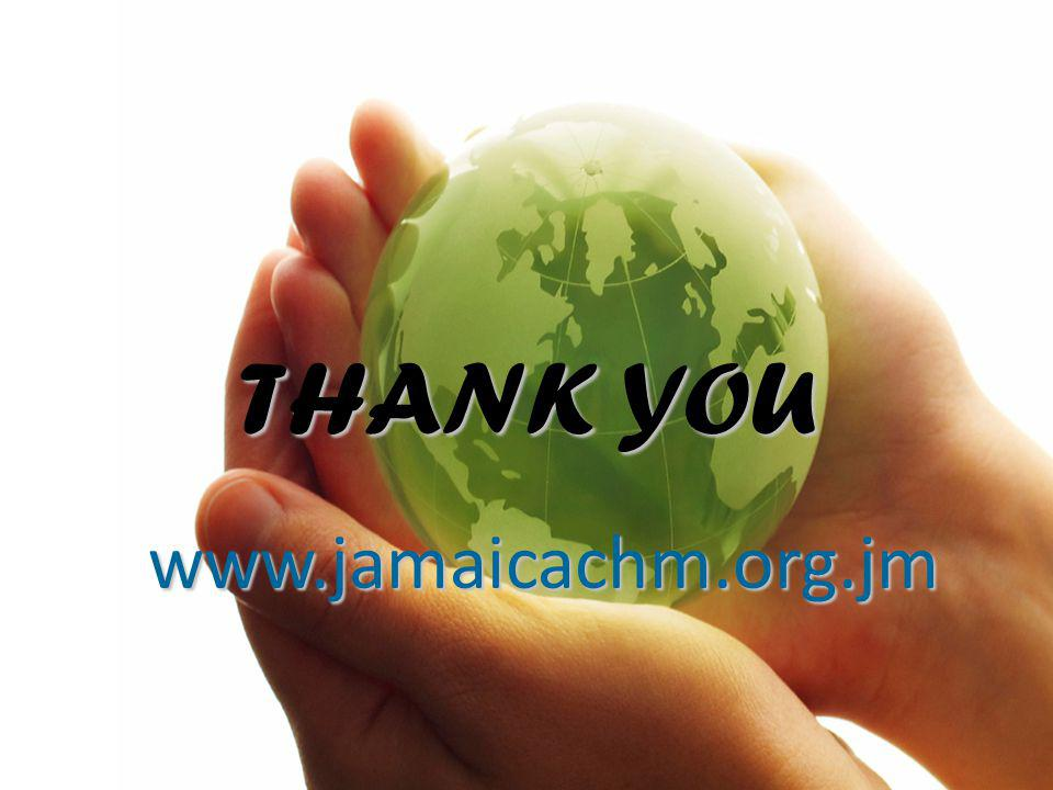 THANK YOU www.jamaicachm.org.jm