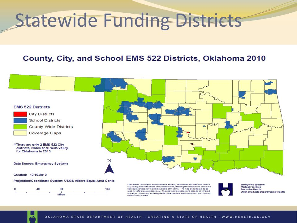 Statewide Funding Districts