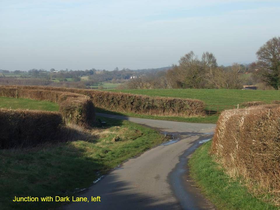Junction with Dark Lane, left