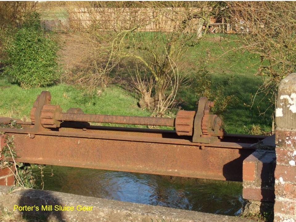 Porters Mill Sluice Gear