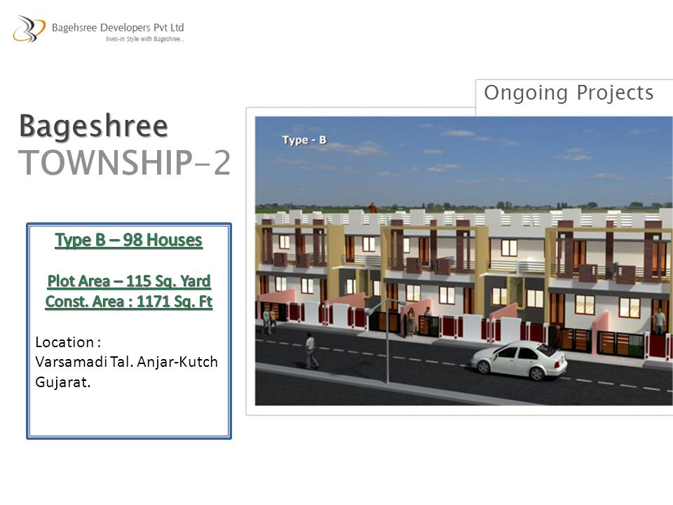 Ongoing Projects Bageshree TOWNSHIP-2
