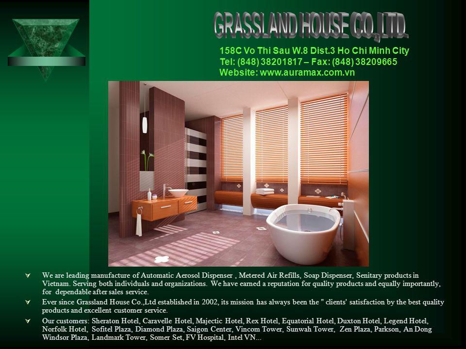 AUTOMATIC AEROSOL DISPENSER Luxury - Modern - Environment Friendly Grassland House Co., Ltd.