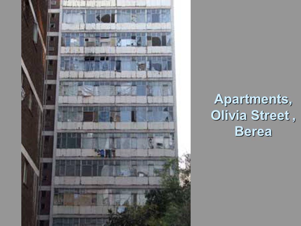 Apartments, Olivia Street, Berea