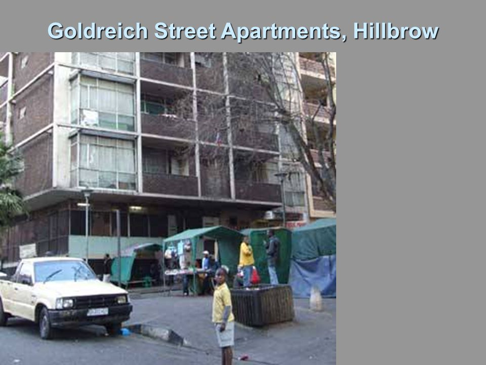 Goldreich Street Apartments, Hillbrow