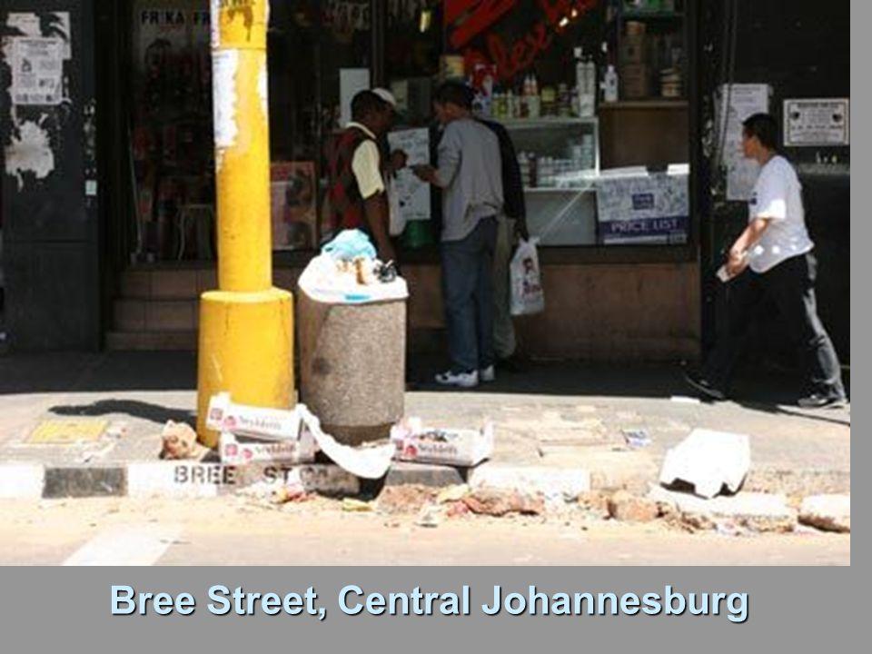 Bree Street, Central Johannesburg