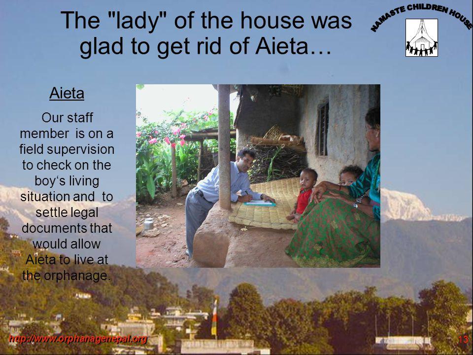 http://www.orphanagenepal.org 14 After four months .
