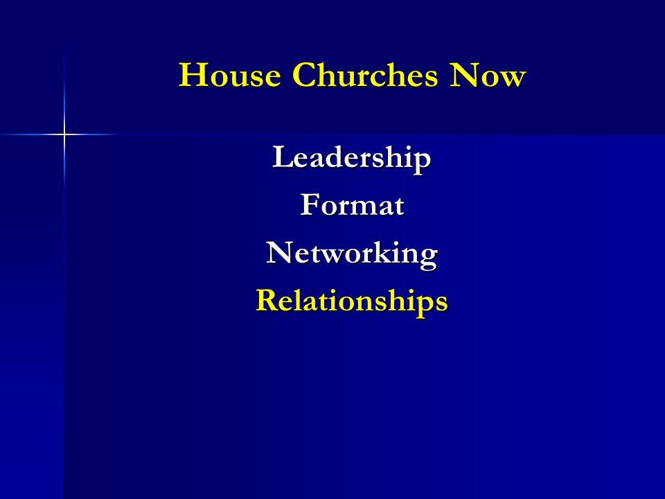 LeadershipFormatNetworkingRelationships