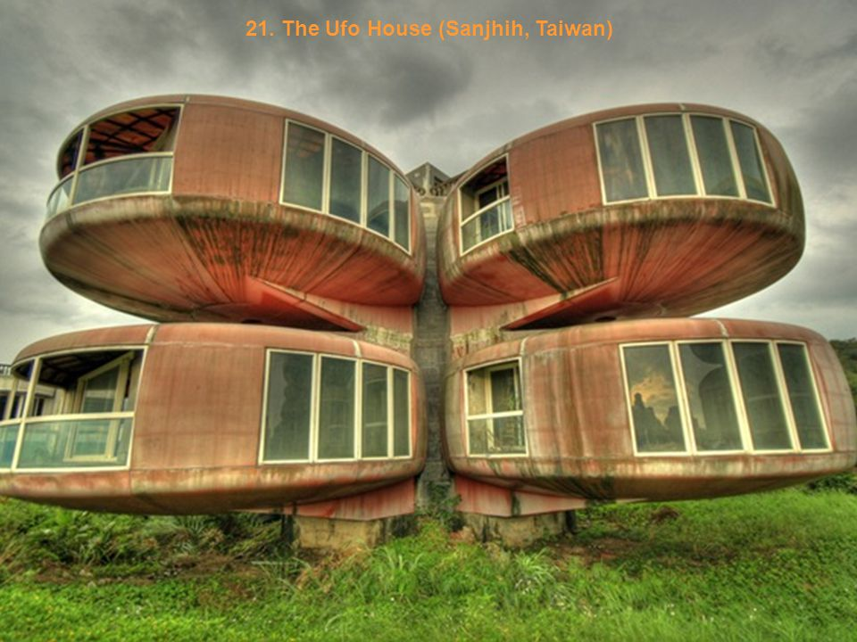 20. Weird House in Alps