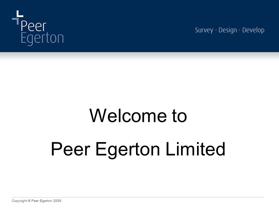 Welcome to Peer Egerton Limited