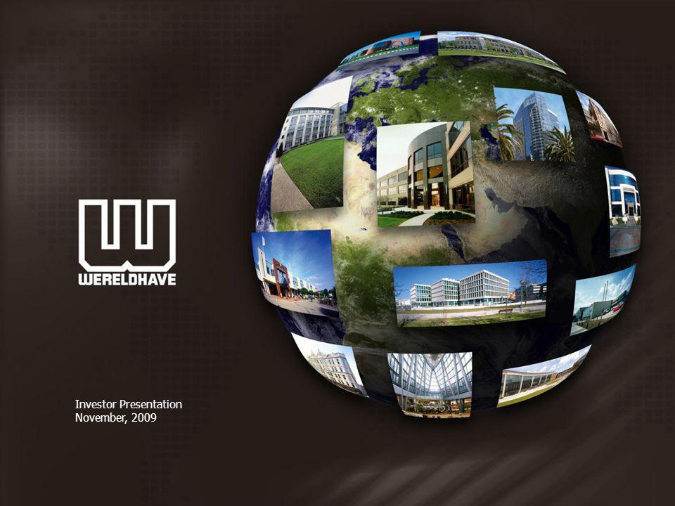 Investor Presentation November, 2009