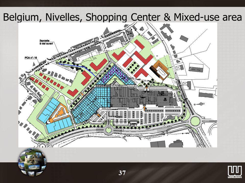 Belgium, Nivelles, Shopping Center & Mixed-use area 37