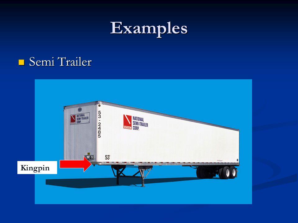 Examples Semi Trailer Semi Trailer Kingpin