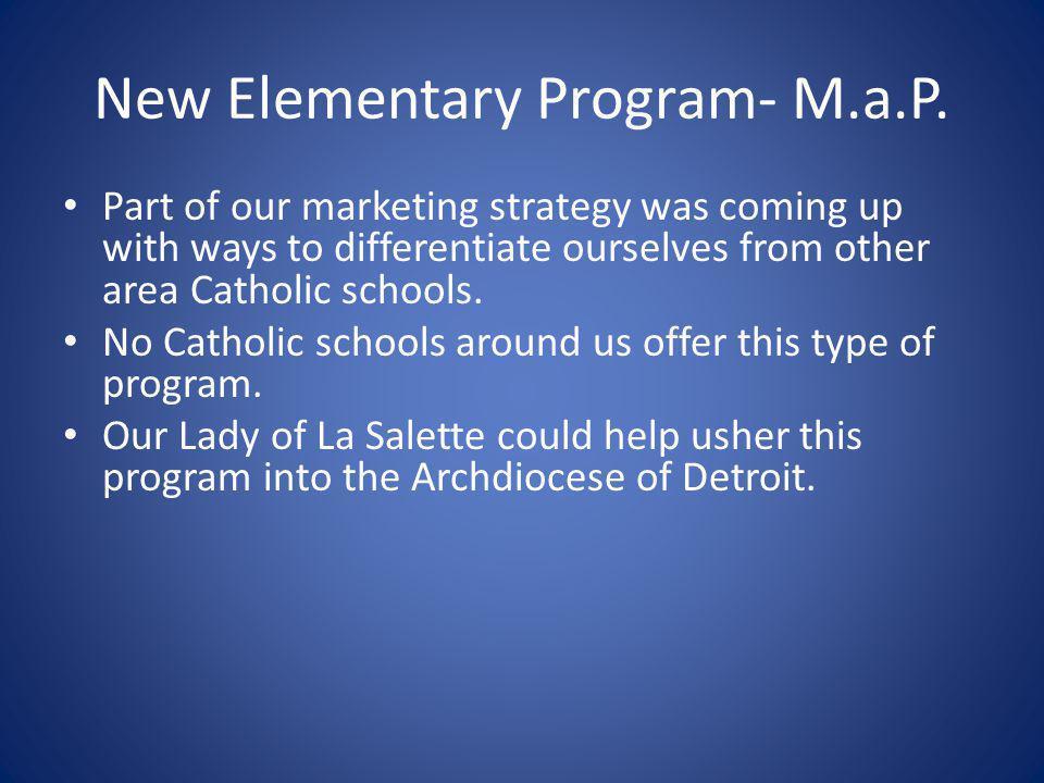 New Elementary Program- M.a.P.