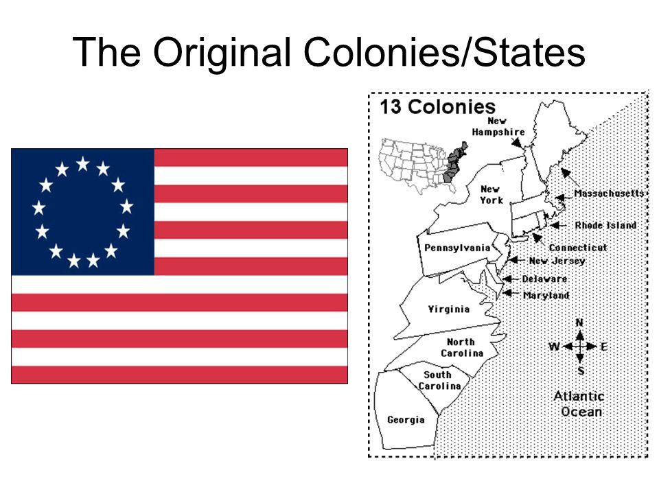 The Original Colonies/States