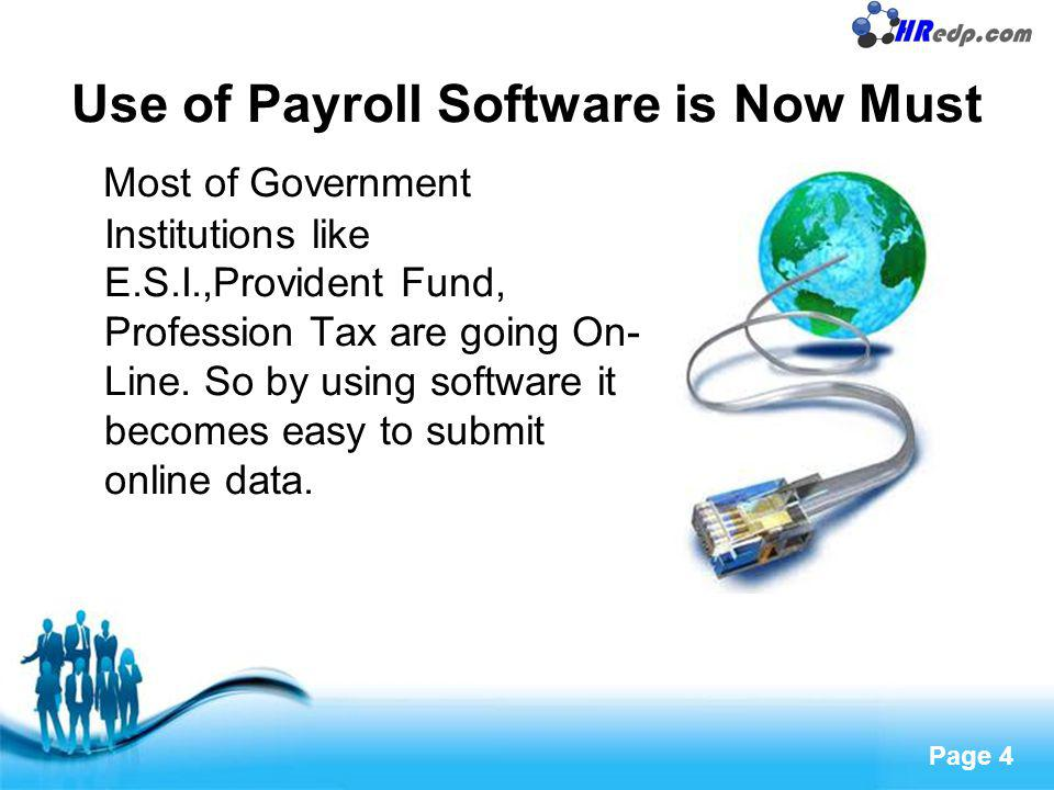 Free Powerpoint Templates Page 5 Outsourcing saves cost Big businesses can afford to maintain big payroll departments.