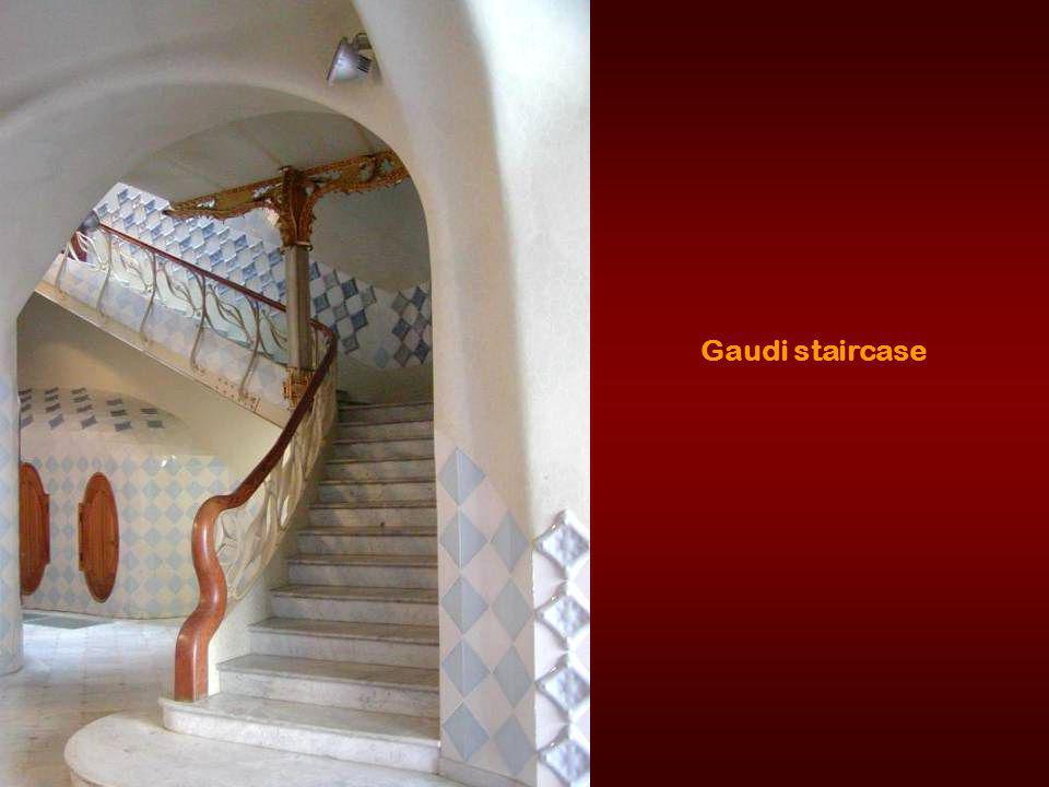 Gaudi spout.