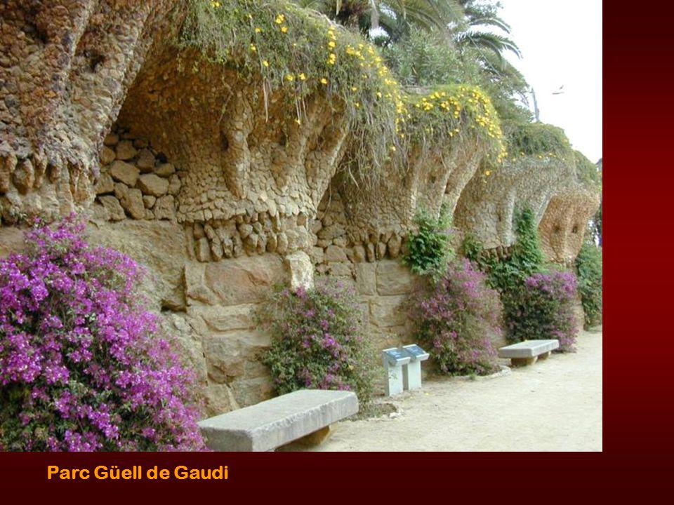 Gaudi s estate - home - his own designs
