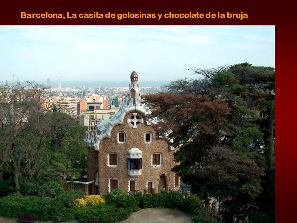 Barcelona, La casita de golosinas y chocolate de la bruja