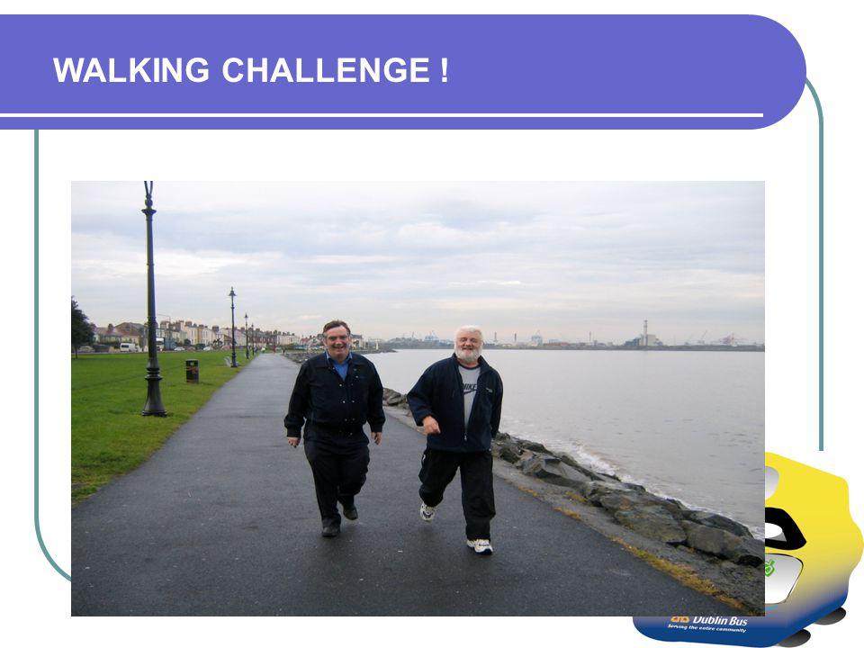 WALKING CHALLENGE !
