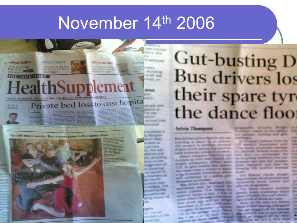 November 14 th 2006