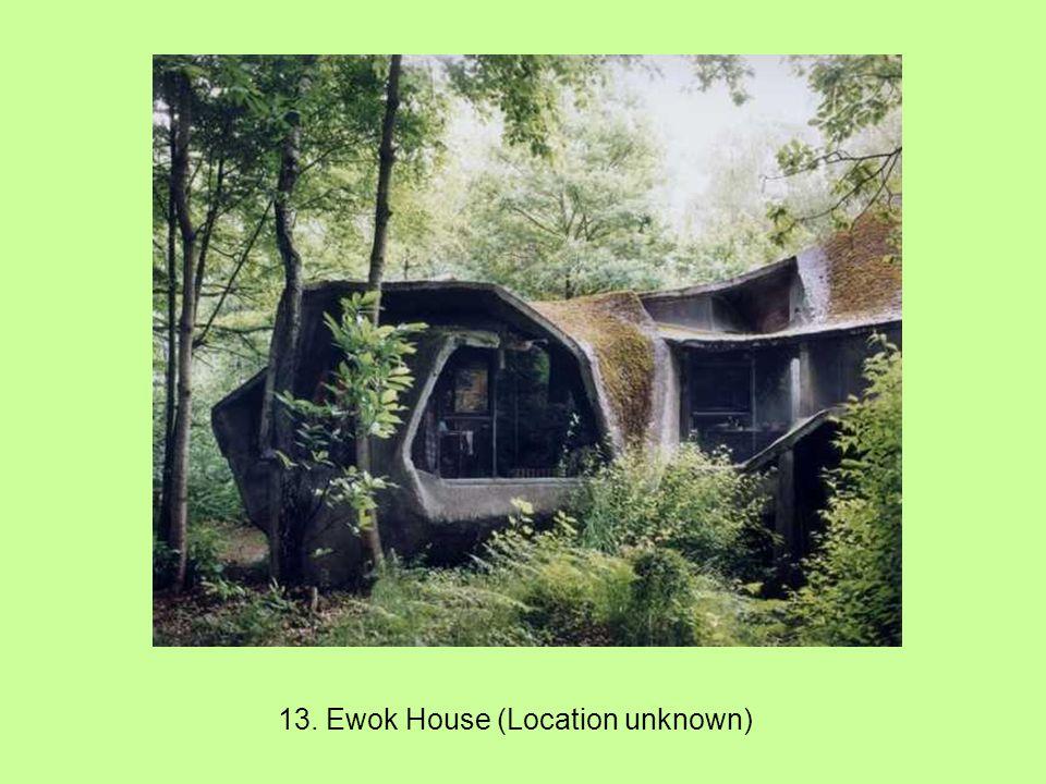 12. The Mushroom House aka Tree House (Cincinnati, Ohio, USA)