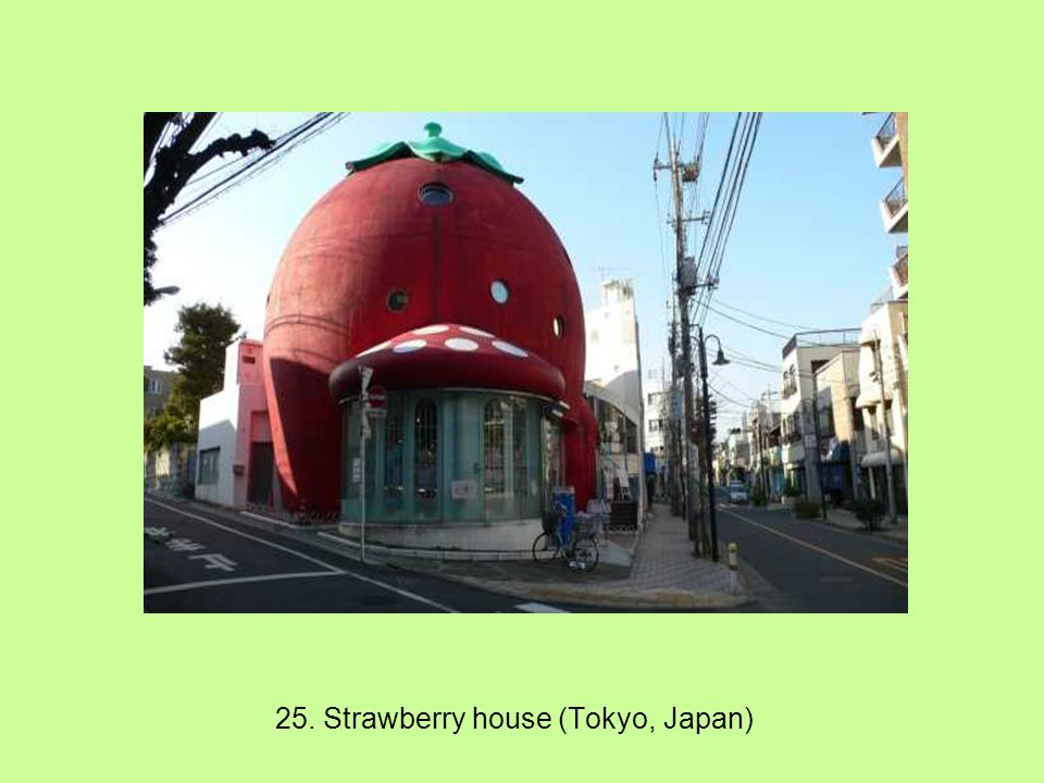 24. Strawberry Ice-cream shop (NC,USA)