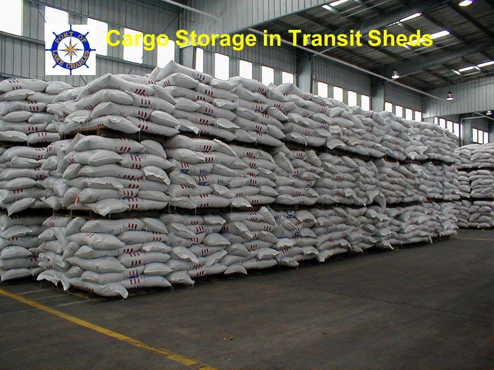 Cargo Storage in Transit Sheds