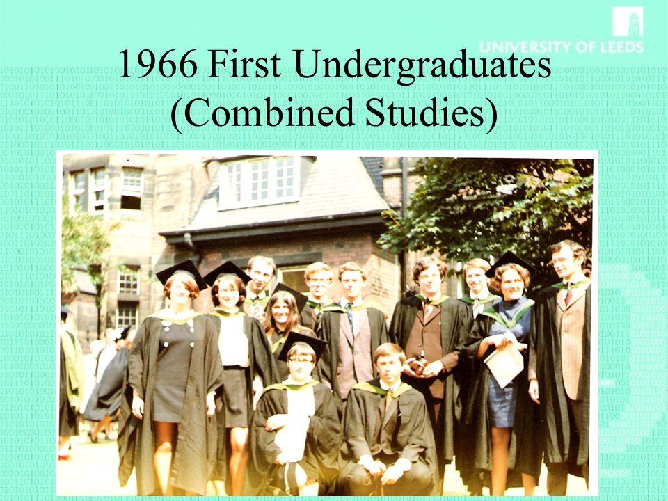 1966 First Undergraduates (Combined Studies)