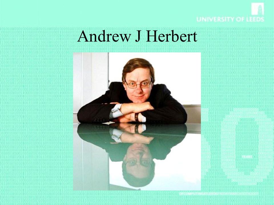 Andrew J Herbert