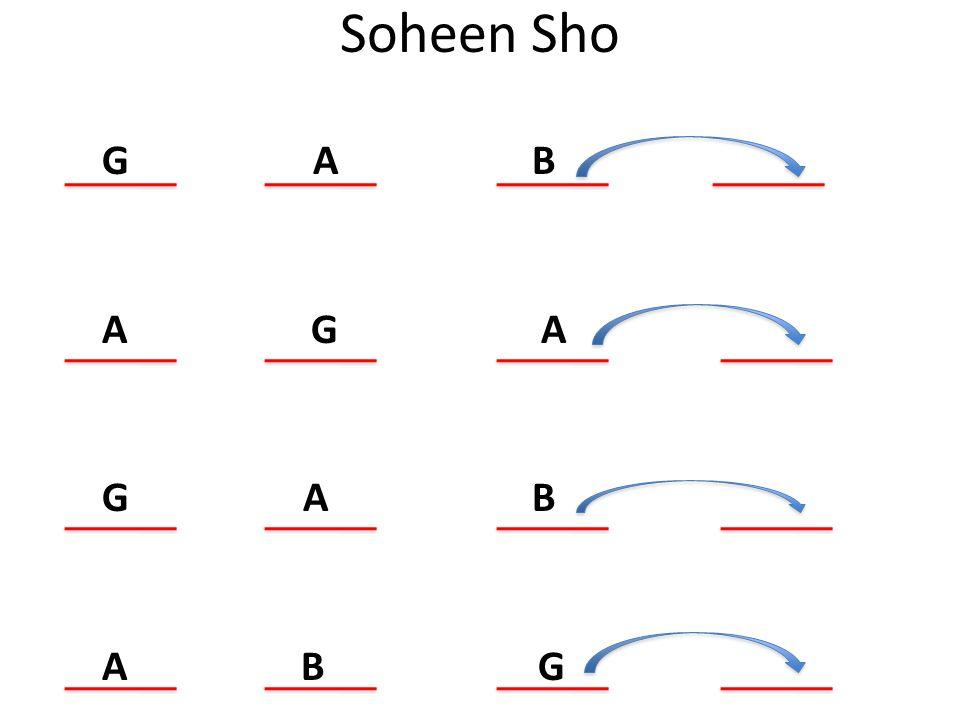 Soheen Sho G A B A G A G A B A B G.