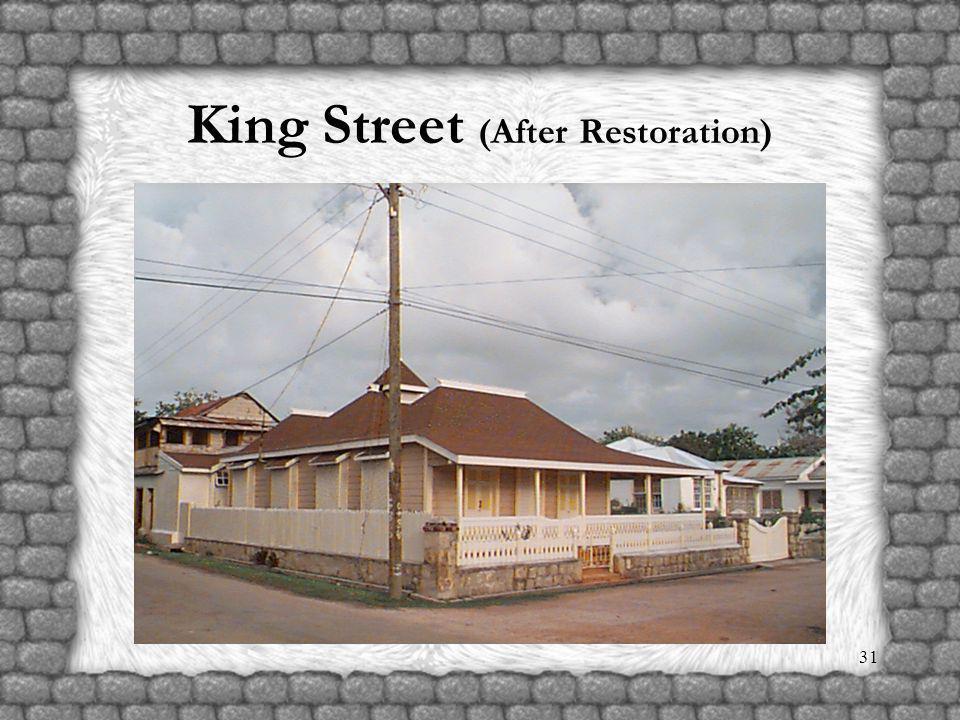 30 King Street (Before Restoration)