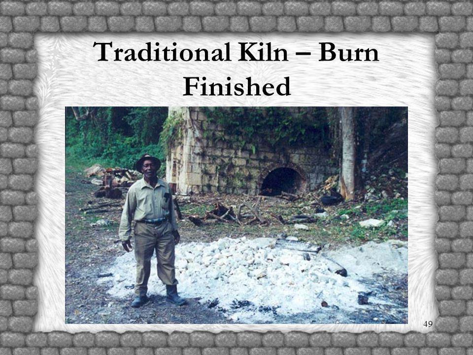 48 Traditional Kiln Burn