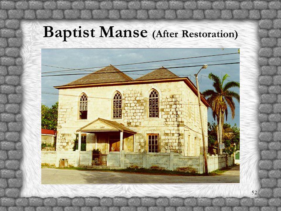 51 Baptist Manse (Before Restoration)