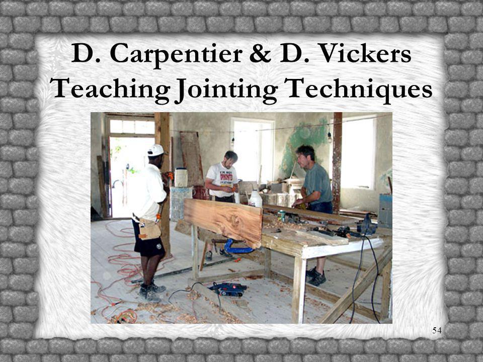 53 D. Carpentier & B. McMillen Teaching Molding Construction