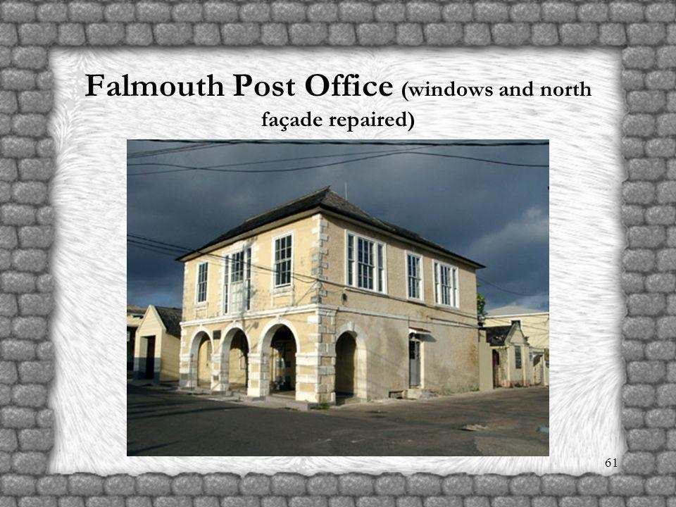60 Post Office Before Restoration (work funded by Friends of Georgian Society-London)