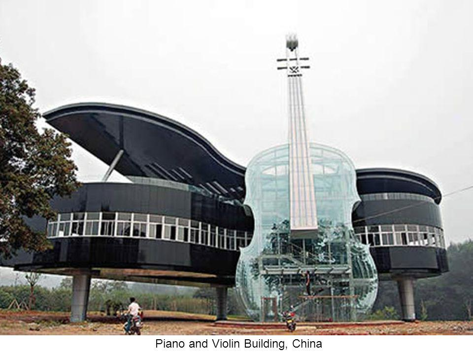 Piano and Violin Building, China