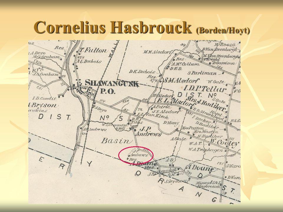 Cornelius Hasbrouck (Borden/Hoyt)