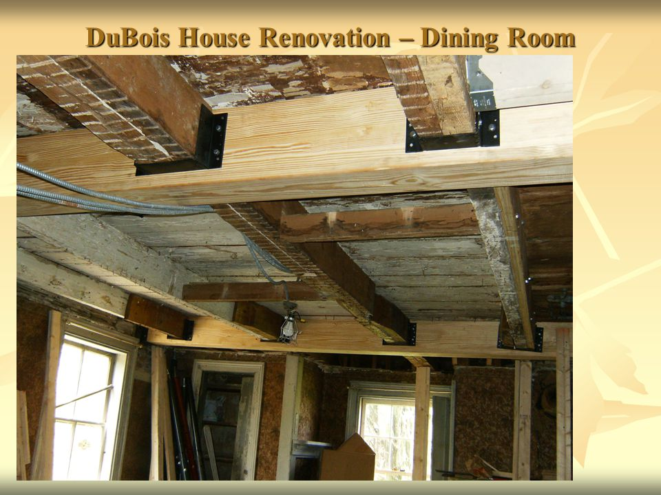 DuBois House Renovation – Dining Room