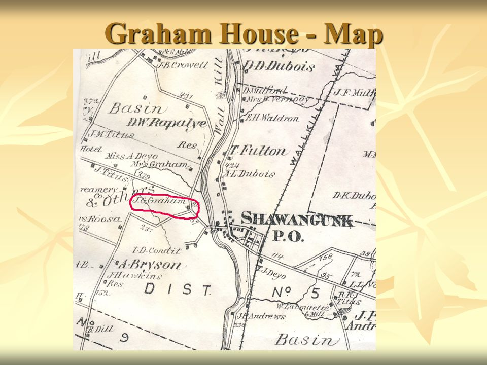 Graham House - Map