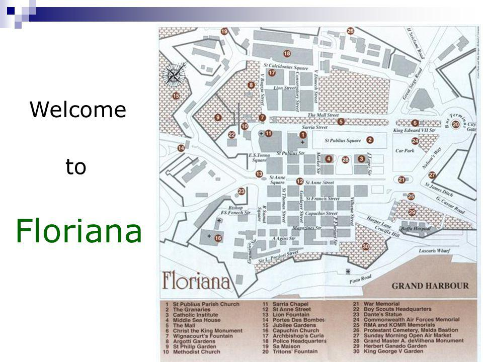 Welcome to Floriana