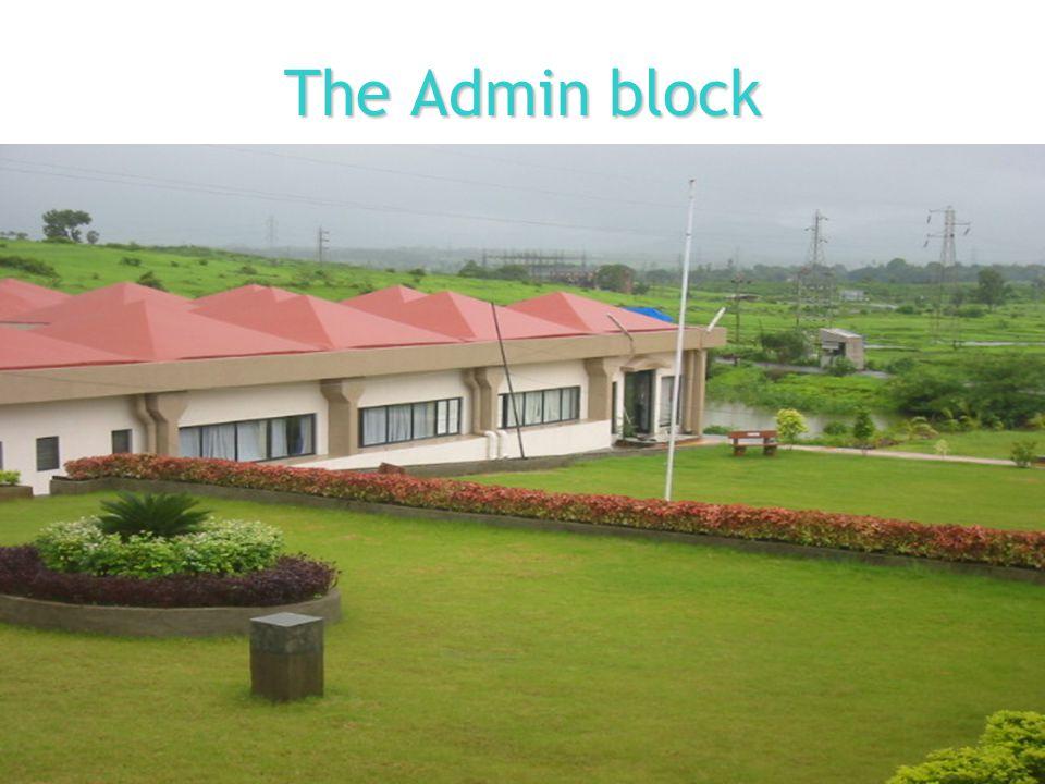The Admin block