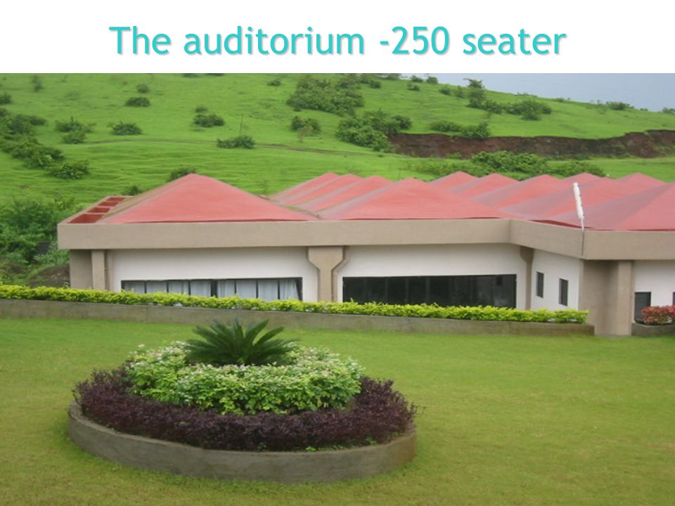 The auditorium -250 seater