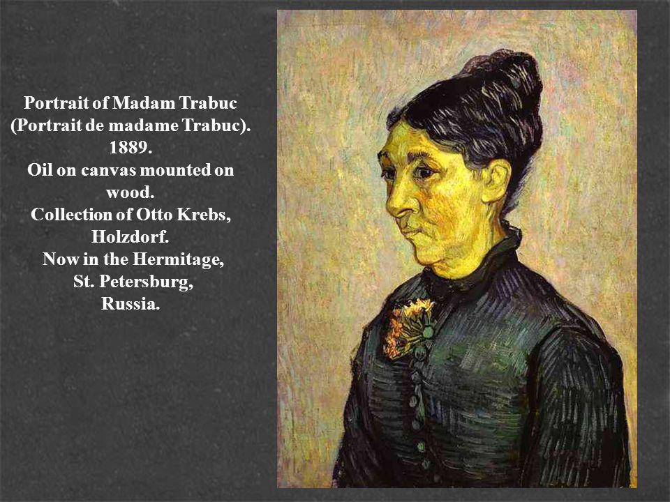 Portrait of Madam Trabuc (Portrait de madame Trabuc).