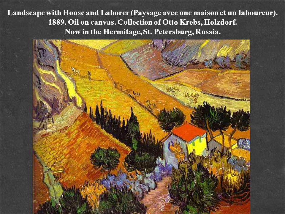 Landscape with House and Laborer (Paysage avec une maison et un laboureur).
