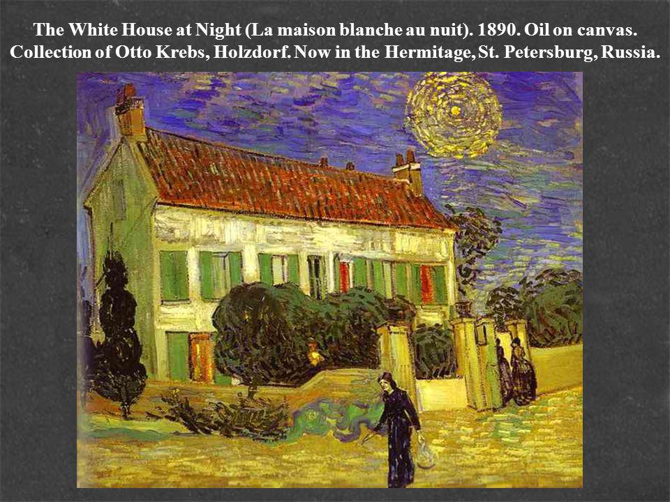The White House at Night (La maison blanche au nuit).
